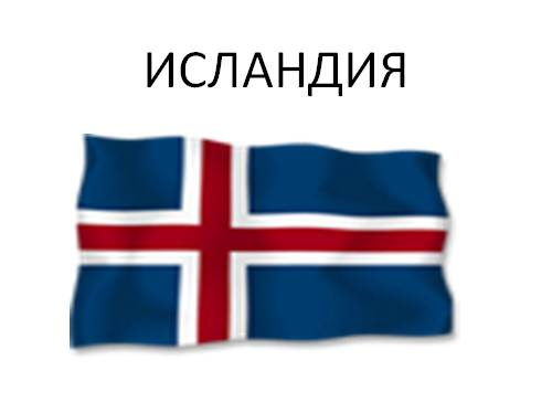 Страны ЕВРОПЫ — Исландия