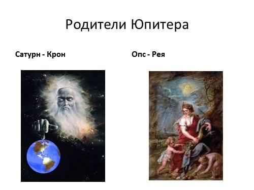 Презентация боги древнего рима