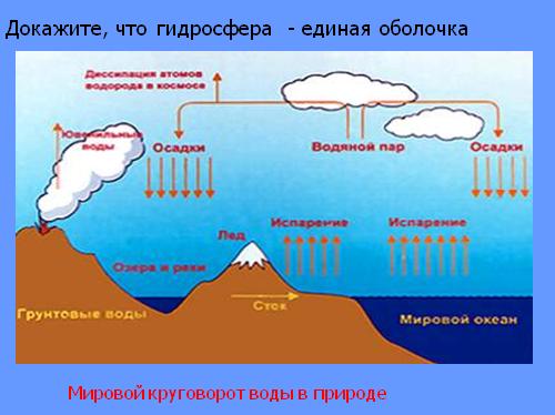 Мировой круговорот воды в