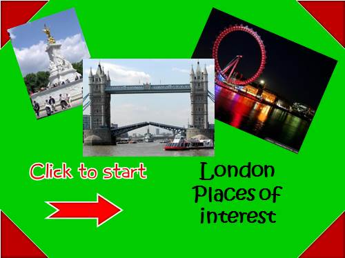 Игра — London Places of interest