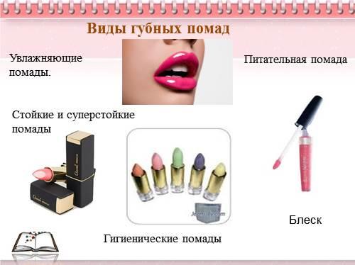 Рецепт губной помады