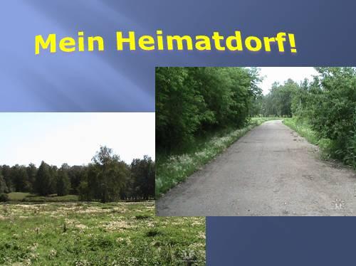 Mein Heimatdorf