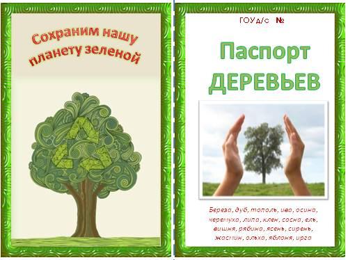 Как сделать паспорт дерева 2 класс фото 366