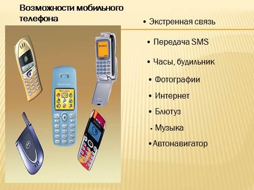 знакомство с историей изобретения сотового телефона