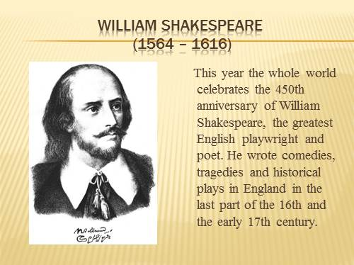 information about william shakespeare as a dramatist Shakespeare as a dramatist the facts about shakespeare are interesting in themselves, but they have little to do with his place in literature shakespeare wrote his.