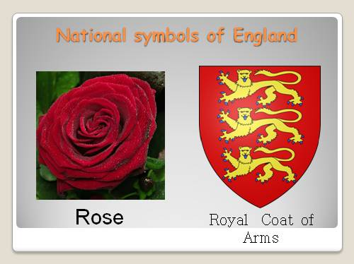 Write about national symbols of the UK (essay)