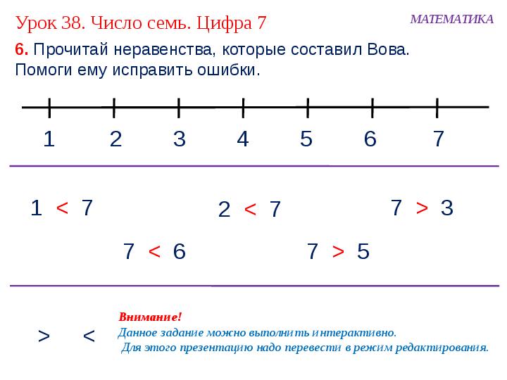 знакомство с уроком алгебры презентация 7 класс