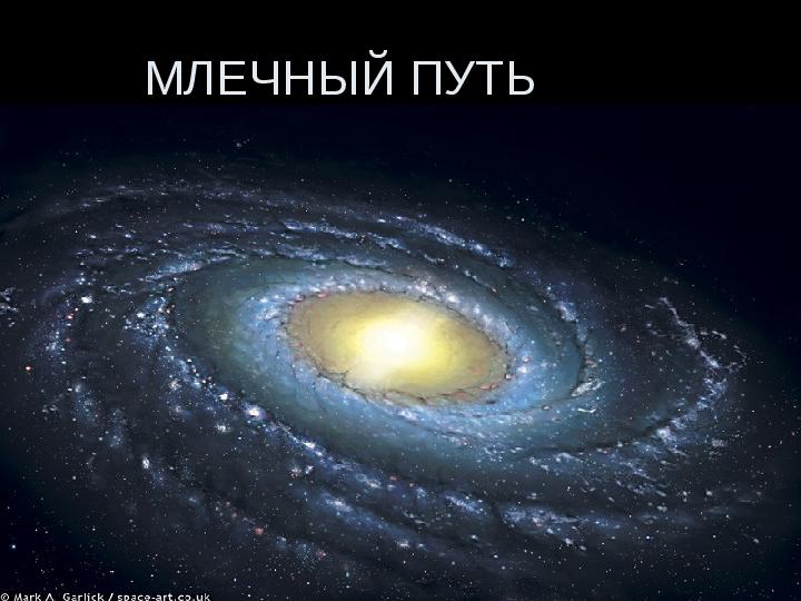 Презентация Млечный путь