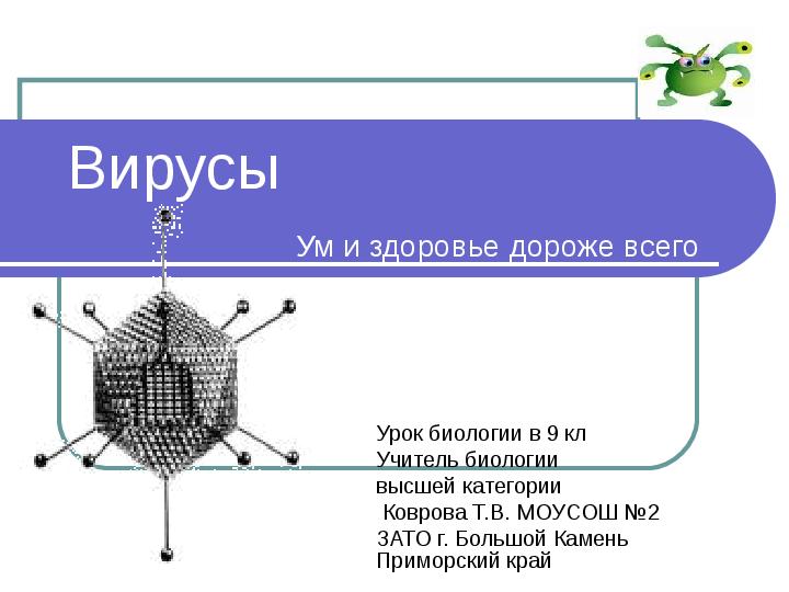 Презентация Вирусы