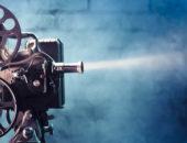 Старый киноаппарат