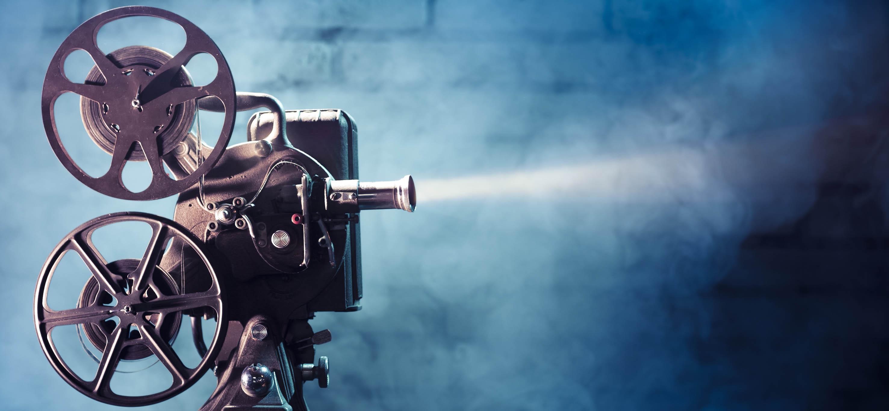 5 фонов для презентаций о кино