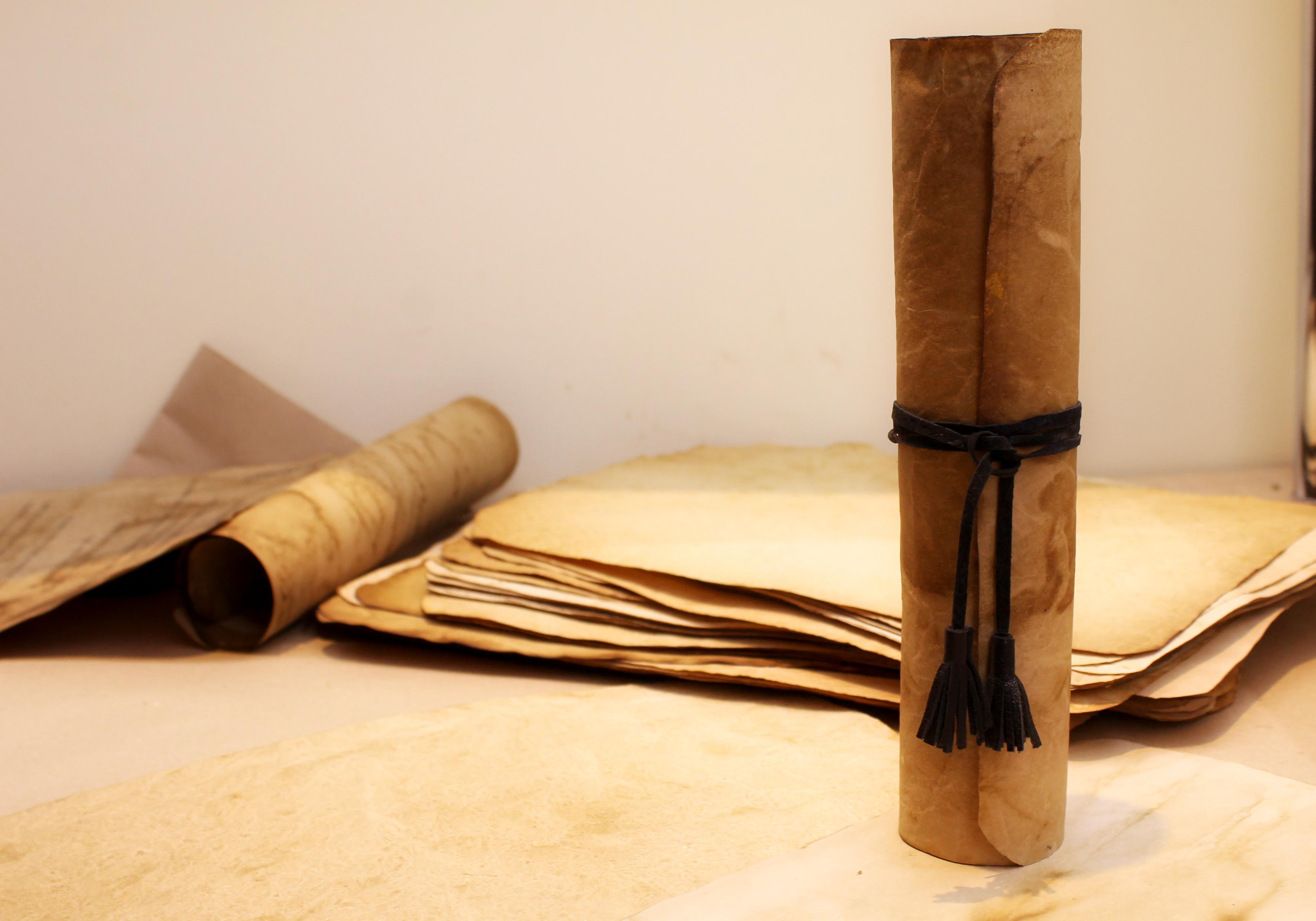 Как сделать бумажный свиток - wikiHow 68