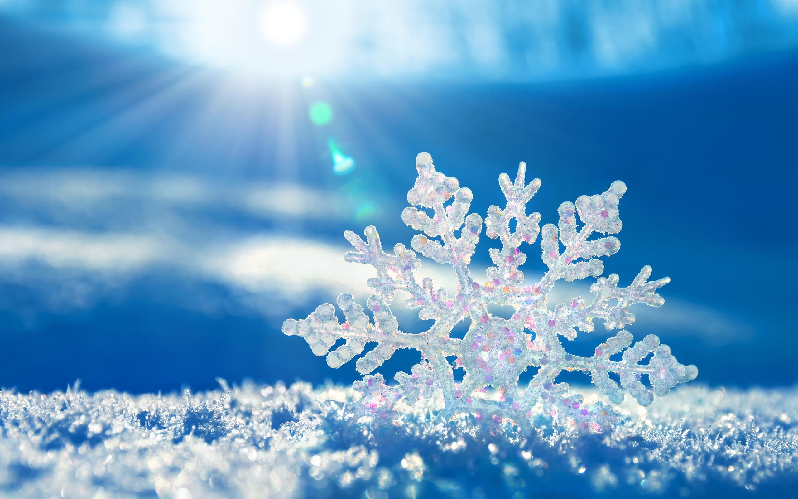 Подборка красивых зимних фонов для презентаций