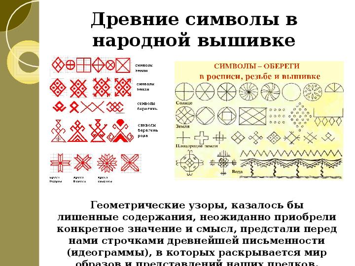 Русская народная вышивка изо 5 класс урок