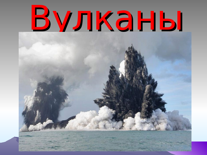 Презентация на тему: «Виды и строение вулканов»