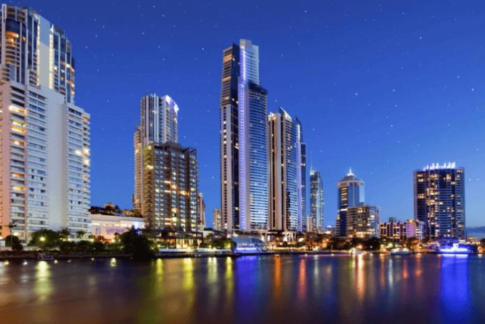 Мельбурн в Австралии
