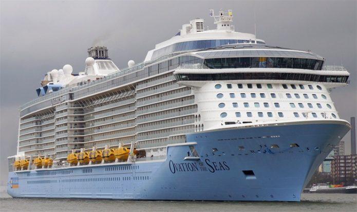Круизный лайнер MS Ovation of the Seas