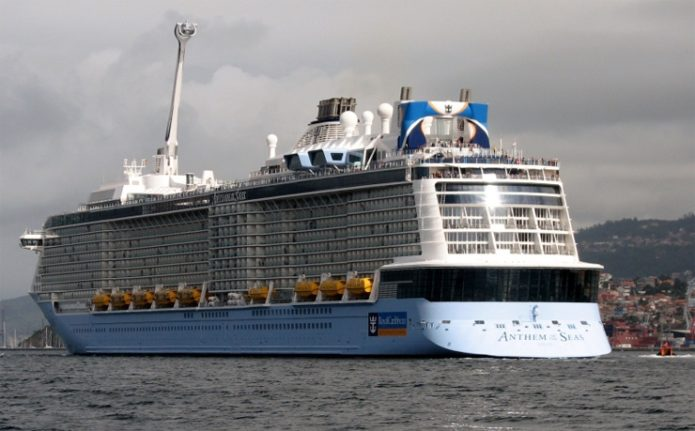 Лайнер MS Anthem of the Seas