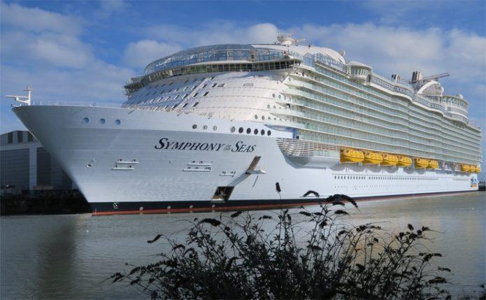 Круизный лайнер MS Symphony of the Seas