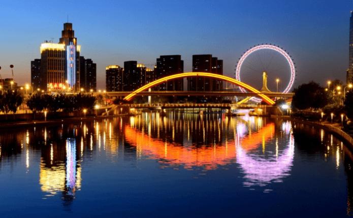 Город Тяньцзинь в Китае)
