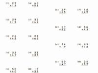 математика сложение