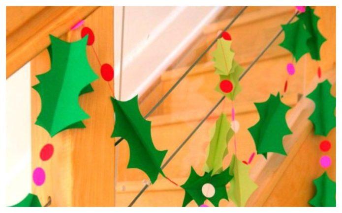 Праздничный новогодний декор своими руками