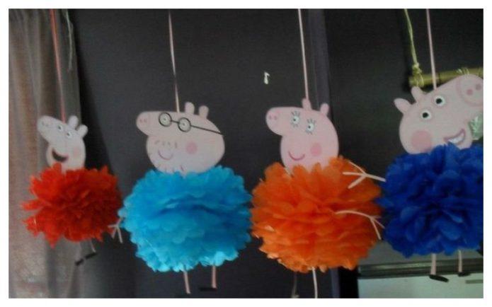 Необычные подвесные свинки