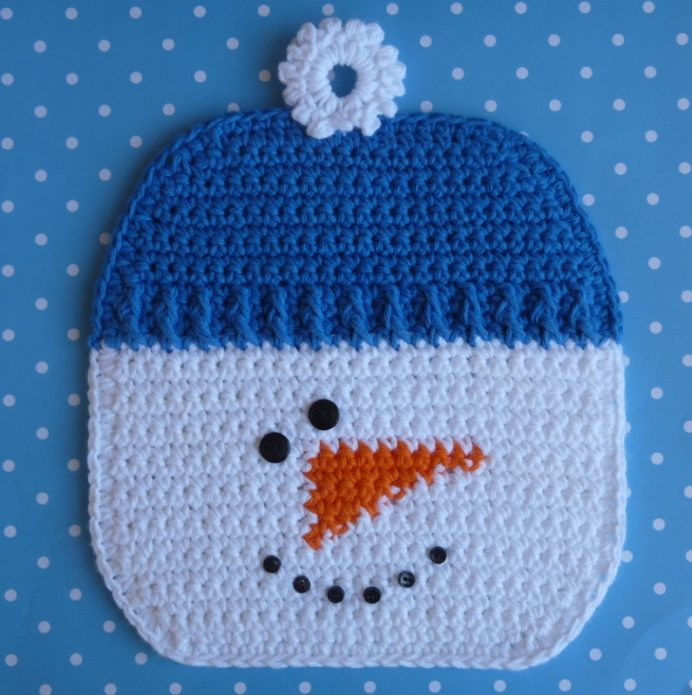 Креативный снеговик-подставка для кухни