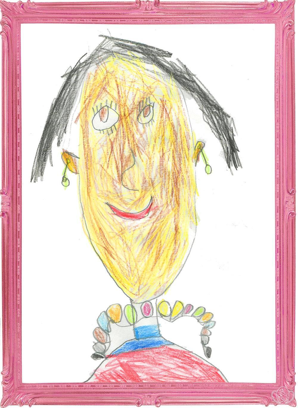 Рисунок, детский смешной рисунок как нарисовать