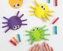Поделки из прищепок для детей: идеи для творчества