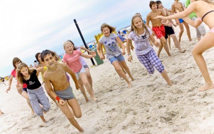 Дети на каникулах в Австралии