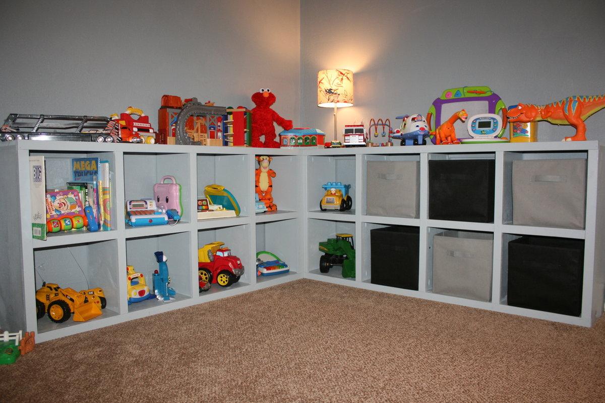 7 простых идеи, которые помогут организовать хранение игрушек в детской