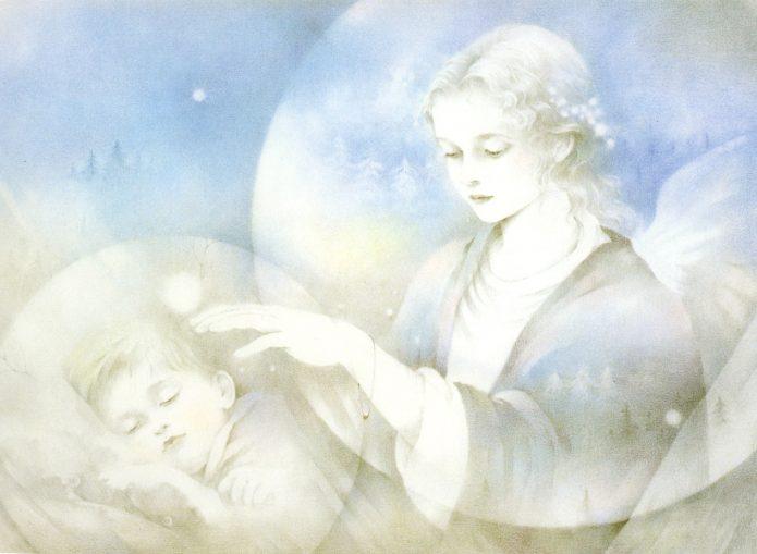 Ангел-хранитель над ребёнком
