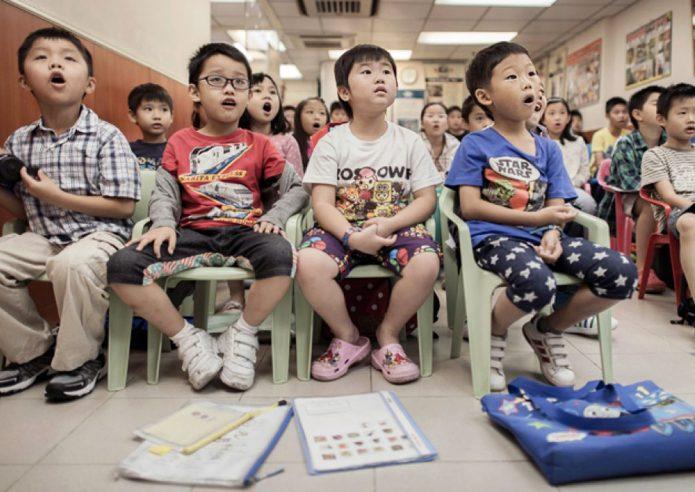 Каникулы школьников в Китае