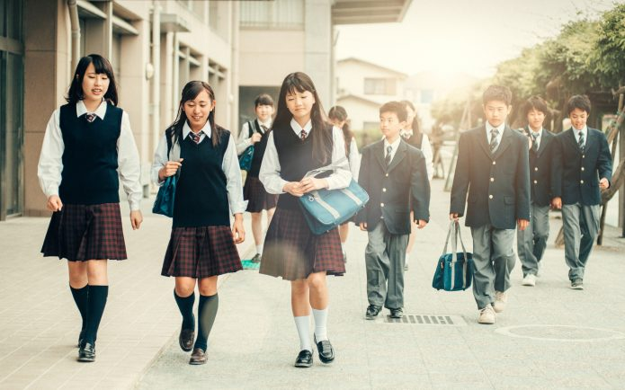 Каникулы школьников в Японии