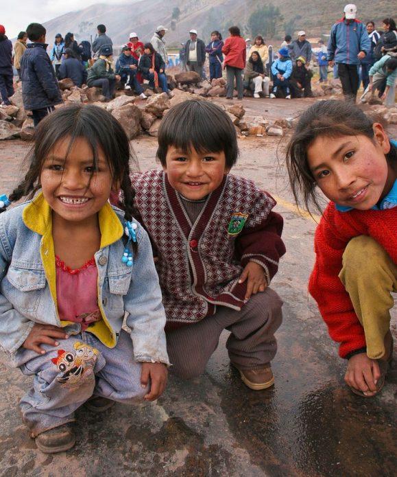 Каникулы школьников в Перу