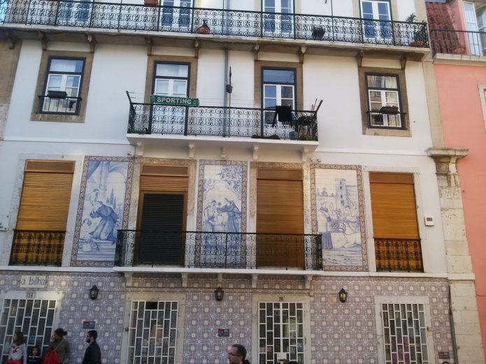 Жилой дом в Лиссабоне
