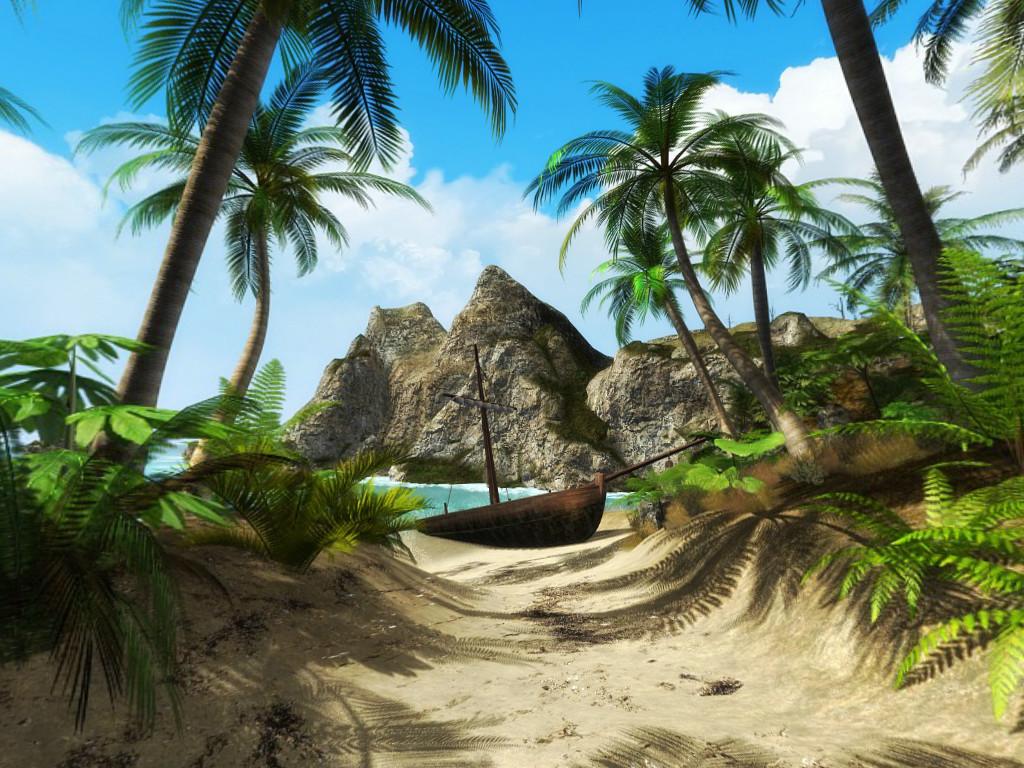 Тест: «выживастик» на необитаемом острове. А вы смогли бы?