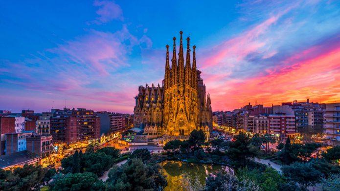 Саграда-Фамилия в Барселоне