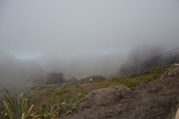 Туман на мысе Рока