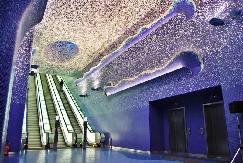 10 самых необычных станций метро в мире