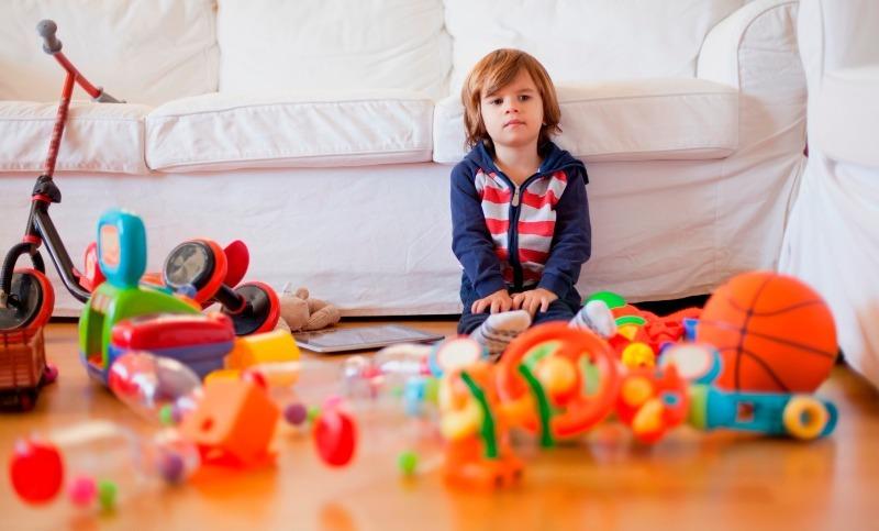 5 причин не задаривать ребенка игрушками