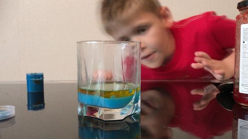Вода и масло