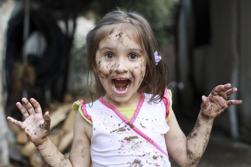 5 вредных советов как вырастить из ребенка грязнулю